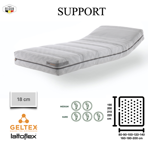 Support Lattoflex - 16 cm Support Geltex